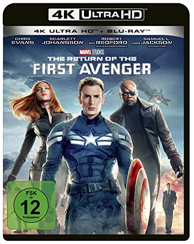 The Return of the First Avenger (4K Ultra HD) (+ Blu-ray 2D)