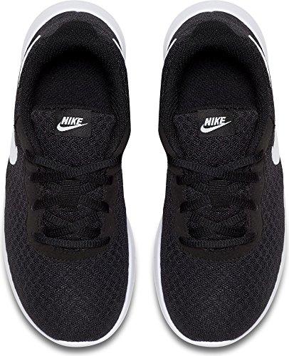 Nike Boys' Tanjun (PS) Pre-School Shoe #818382-011 (2.5 Little Kid M), Black/White