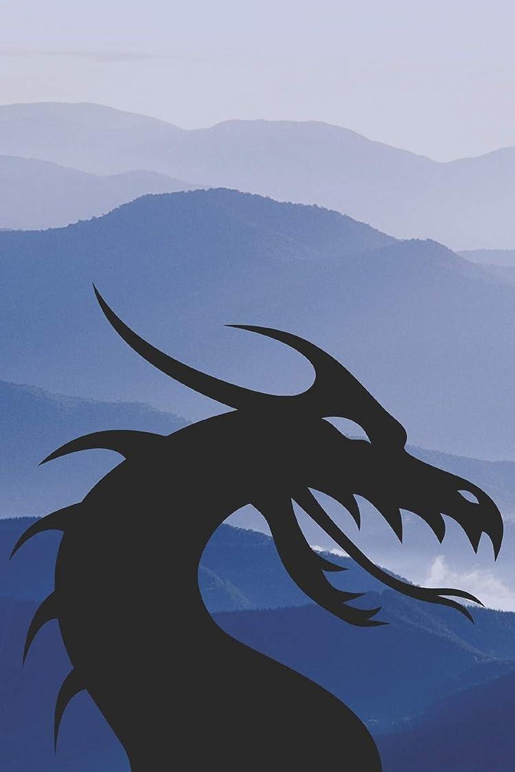 実験的かかわらず心配するDragon Notebook: Lined Notebook Journal Diary with Dragons on All 150 Pages