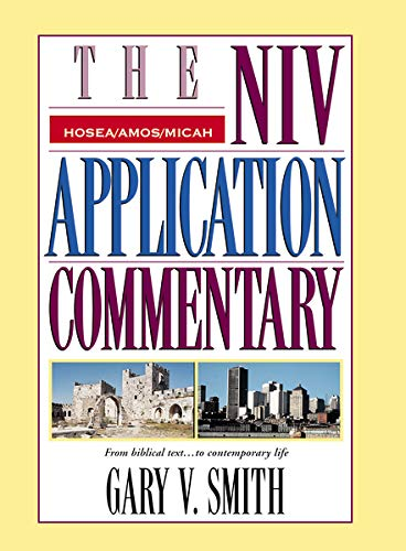 Image of The NIV Application Commentary: Hosea, Amos, Micah
