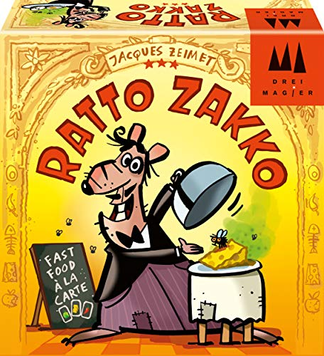 Schmidt Spiele 40884 Ratto Zakko, DREI Magier Kinderspiel, bunt