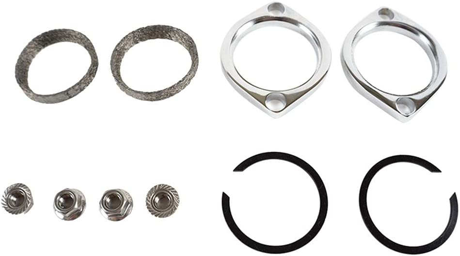2021 autumn and winter new Chrome Exhaust Flange Kit with Tapered Harl Nuts It is very popular Gaskets for