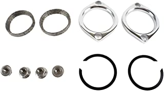 Replacement Exhaust Port Flange Nuts For Harley 4pcs