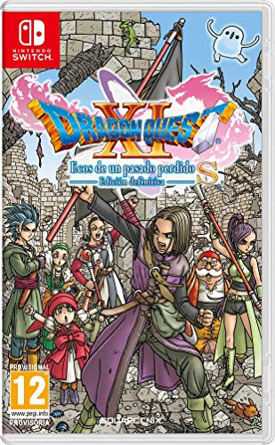 Dragon Quest XI S echoes on an elusive age para Switch