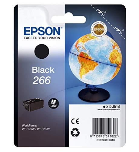Epson C13T26614010 - Cartucho de tóner adecuado para WF100W, color negro válido para EPSON WorkForce WF-100W