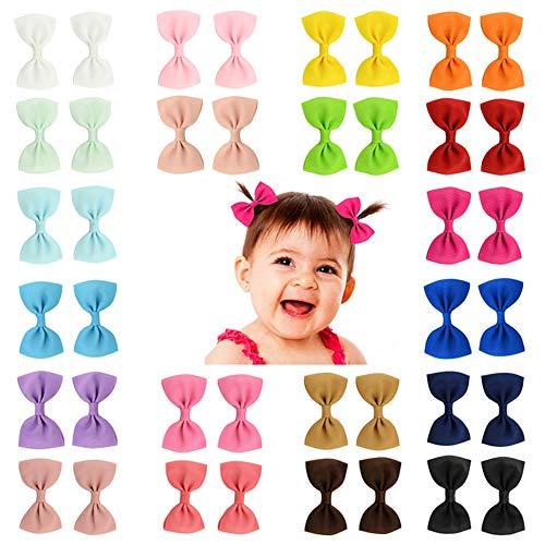 40 pcs pequeño bebé del pelo arquea los clips de la cinta para niñas niños pequeños niños infantil fino lazo de pelo …