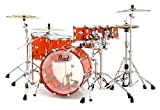 Crystal Beat Bass Drum 22 in. Ruby Red