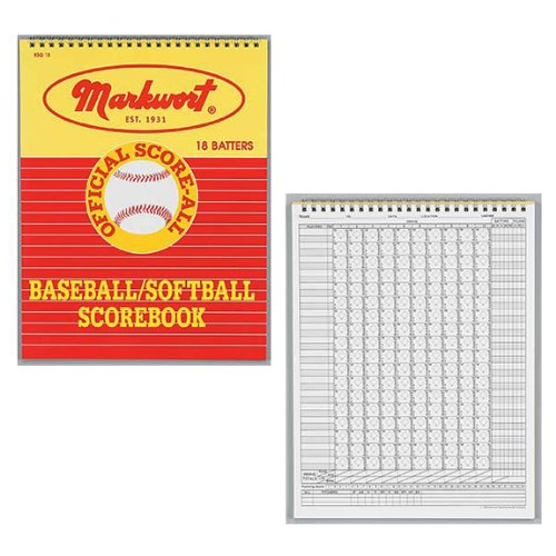 Markwort Baseball & Softball Scorebook - 26 Games