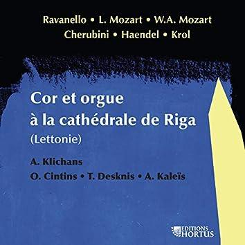 Cor et orgue à la cathédrale de Riga