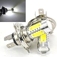 交換用 バルブ H4 LEDバルブ ヘッドライトled フォグランプ キセノンホワイト ハイパワーled 7.5W 2個入り