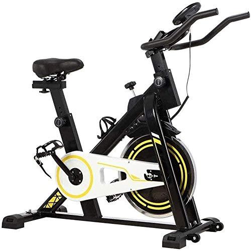 WGFGXQ Bicicleta estática Ciclismo de Interior Bicicleta Bicicletas estacionarias Máquina de Entrenamiento Cardiovascular Bicicleta Vertical Gimnasio en casa Equipo de Fitness en casa de Giro silen