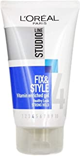 Studio Line Fix & Style Strong Hold Hair Gel 4, 150ml