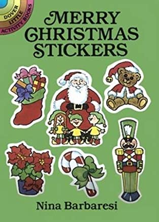 Merry Christmas Stickers (Dover Little Activity Books Stickers) by Nina Barbaresi (1992-06-15)