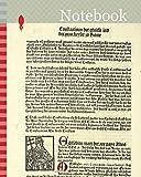 Notebook: Pope Miltiades (recto) and Saint Gereon's Basili