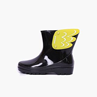 BEARCAT 儿童雨靴 日韩款男女童雨鞋 学生防滑时尚加厚水鞋 中筒雨鞋