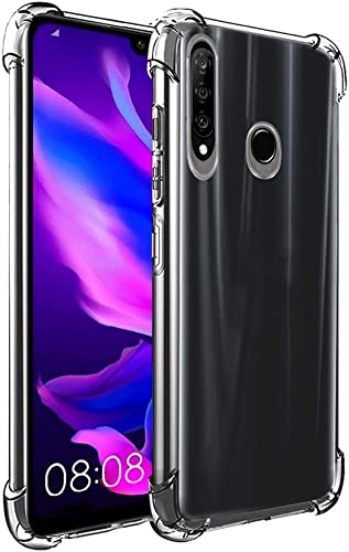 Amazon Brand Solimo Protective Mobile Cover Soft Flexible Back Case for Huawei P30 Lite Transparent