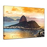 Bilderdepot24 Bild auf Leinwand | Copacabana - Rio De