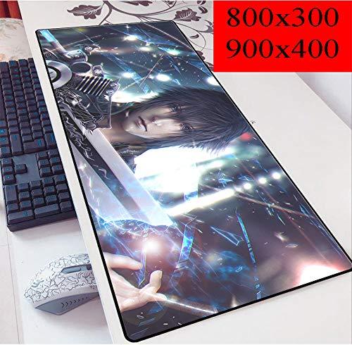 Final Fantasy XXL Speed Gaming Mauspad | 900 X 400Mm | XXL Mousepad | Tischunterlage Large Size | Perfekte Präzision Und Geschwindigkeit-H_300x800