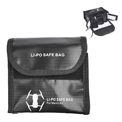 BUYGOO Bolsa de Batería LiPo a Prueba de Explosiones Portable Seguro Bolsa Saco Cargar Proteccion Bolso para dji Mavic Air