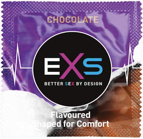 EXS Condoms met warme chocoladesmaak - 100 stk, 1530 g