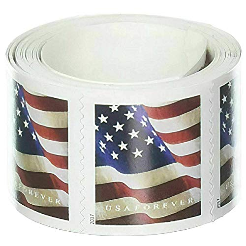 Roll of Postage Stamps, Coil of 100