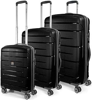 MODO by Roncato Unisex-Adult's Luggage Set, Black, 79 cm