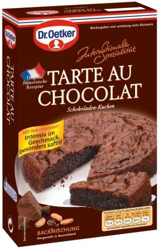 Dr. Oetker Tarte Au Chocolat, 8er Pack (8 x 470 g Packung)