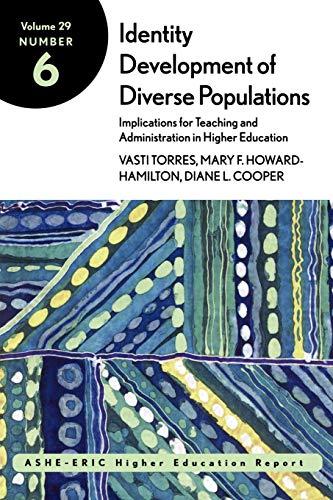 Identity Development of Diverse Populations: Implications...