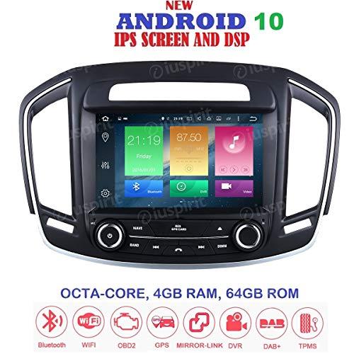 Android 8.0 GPS DVD USB SD WI-FI Bluetooth MirrorLink Autoradio kompatibel mit Opel Insignia 2013, 2014, 2015, 2016, Buick Regal Vauxhall Insignia
