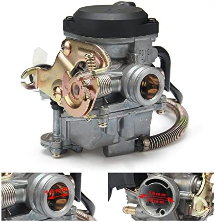 JFG RACING 18mm Motorcycle Kei hin CVK PD18J Carb Carburetor For 4 Stroke GY6 50CC 139QMB 139QMA product image