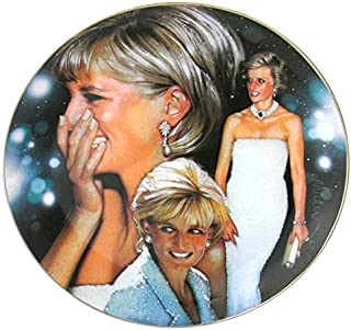 Franklin Mint Lady Diana Princess of Style Collector's Plate 8 3/8 in Dia