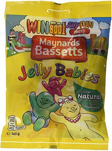 Maynards Bassetts Jelly Babies Sweets Bag (165g x 12)