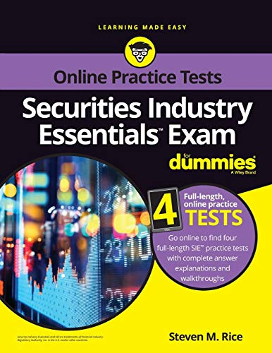 Securities Industry Essentials Exam For Dummies with Online Practice (For Dummies (Career/Education)