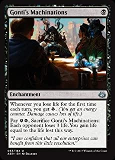 Magic The Gathering - Gonti39;s Machinations (063/184) - Aether Revolt