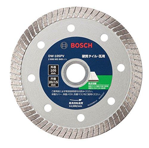 BOSCH(ボッシュ) バリューシリーズ・ダイヤモンドホイール105mmφ (波形) DW-105PV