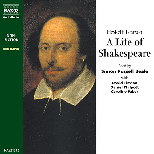 A Life of Shakespeare audiobook cover art