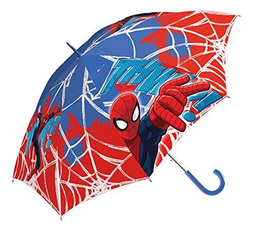 Marvel Ultimate Spiderman Parapluie Canne, 40 cm, Multicolore