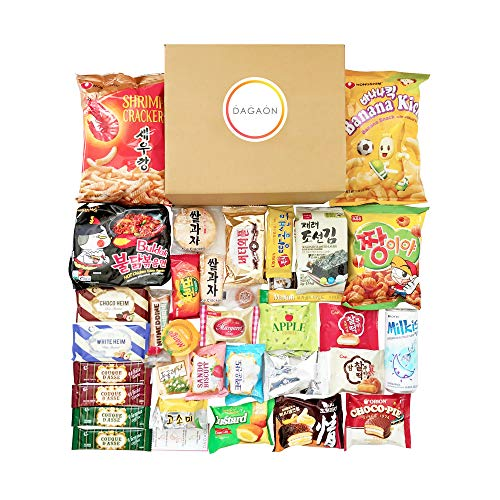 DAGAON Finest Korean Snack Box 3...