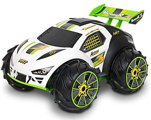 Nikko - VaporizR 3 - Steuerbares Auto - Ferngesteuertes Auto - RC Auto für Kinder mit Batterie - Wiederaufladbar - Wasserdicht - 22 x 31 x 18 cm - Neongrün