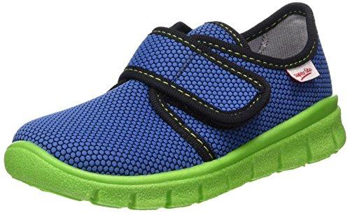 Superfit Jungen Bobby_268 Haus Schuhe, Blau (Nautic Kombi 94), 29 EU