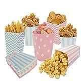 Siumir Scatole di Popcorn 48 PCS Caramella Contenitore per...