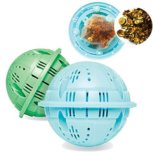 ReNature 洗濯除菌ボール (BLUE) 世界初、特殊銅合金を使った洗濯ボール KATRI.韓国洗濯洗浄技術研究所センターの試験データに基づく確かな除菌、消臭、洗浄力。一般的なセラミックボールとは違う新しい洗濯除菌ボール。 アトピー性皮膚炎、敏感肌、