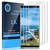 LK [3 Pack] Screen Protector for Samsung Galaxy Note 9, [Flexible Film] HD Clarity, Anti Scratch, Case Friendly-FL562