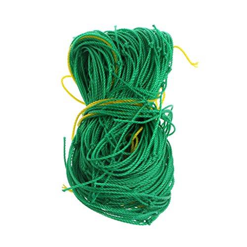 KunmniZ 1 Pc Climbing Plants Garden Netting Nylon Trellis Net Plant Grow Fence1.8m*1.8m