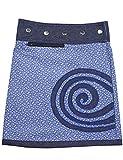 Sunsa Mädchen Rock Minirock Jeansrock Wende-Wickelrock Sommerrock kurz, Mini Jeans Mädchenrock Girls Skirt, 2 Kinder Röcke in einem, Verstellbarer Größe, Kid's Coole Sachen, Geschenk 15705