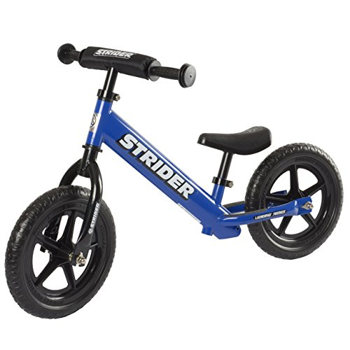 Strider ST-4 No-Pedal Balance Bike, For 18 mos.- 5 years, Blue
