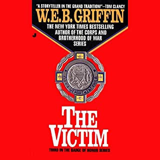 The Victim audiobook cover art