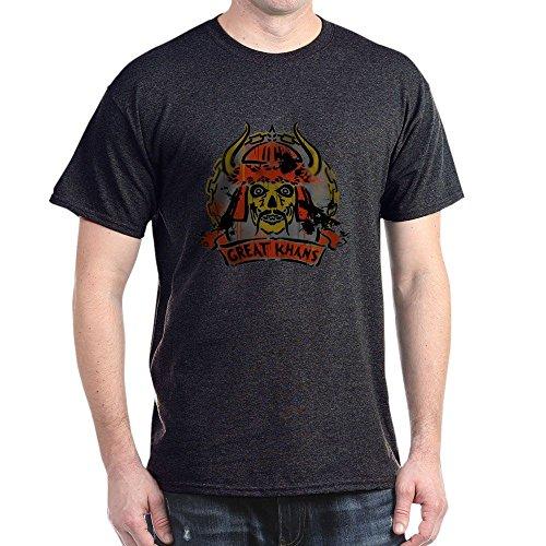 CafePress The Great Khans Dark T Shirt 100% Cotton T-Shirt Charcoal