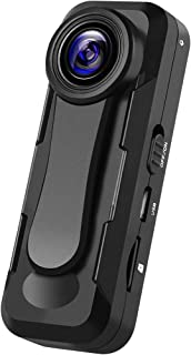 小型カメラ ビデオカメラ小型 【2020最新 Sony307センサー搭載 フル1080P 超高画質】 30FPS クリップ 小型隠しカメラ 録画・撮影・録音 超軽量 長時間撮影/会議/授業/防犯対策/証拠撮影など対応