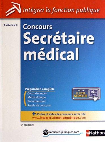 Concours secrétaire médical